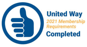 2021 United Way Membership Requirements Completed