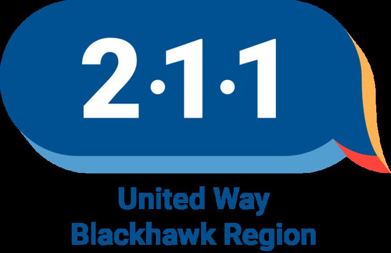 United Way Blackhawk Region 211 logo